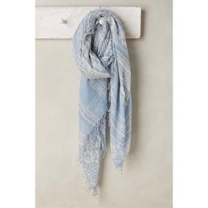 {anthropologie} noelle scarf